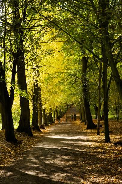 Hilary Swank – Hampstead Heath, London