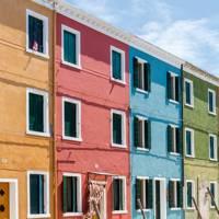 Casa Burano, Venice, Italy