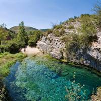Pozo Azul natural pools, Spain
