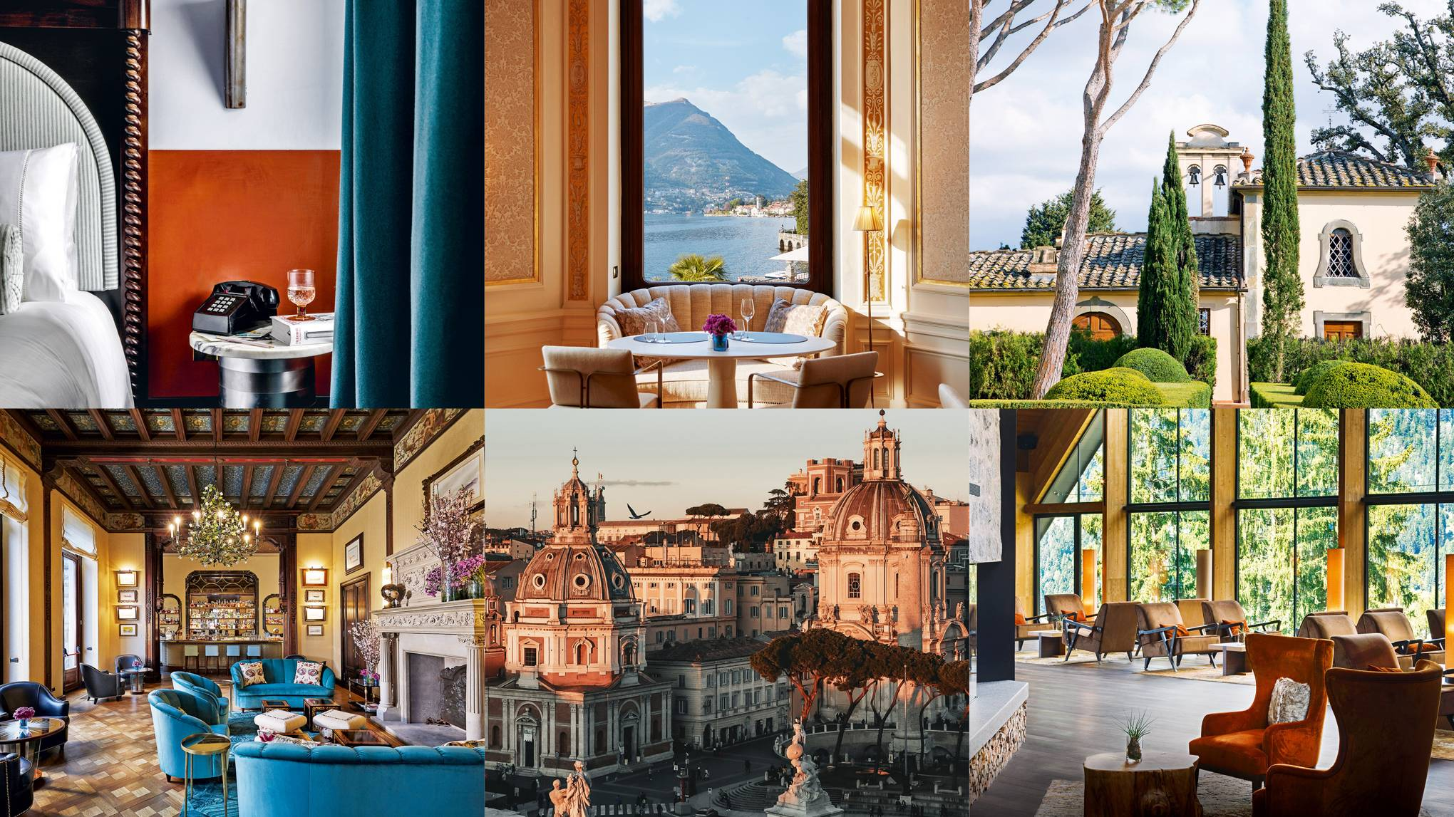 The best new hotels in Italy