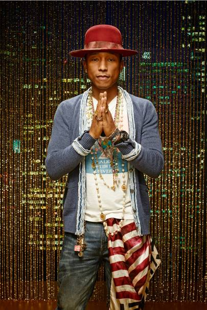 Pharrell Williams | The 50 best travellers in the world