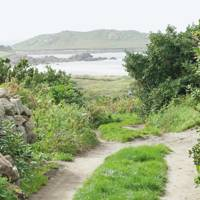 Cycling in the Scilly Isles