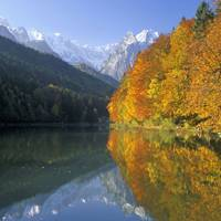 Autumn in the Bavarian Alps