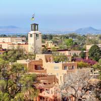 8. Santa Fe, New Mexico, USA. Score 91.58