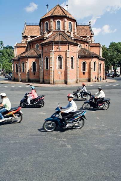 Ho Chi Minh City's cathedral