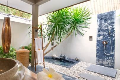 Outdoor Bathroom Designs bathroom ideasawesome outdoor garden with luxury bathroom with wood glass bathroom shed plus classy An Outdoor Bath At Villa Shambala Seminyak Thailand