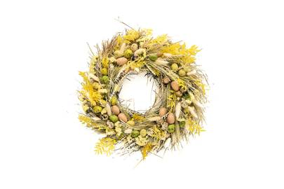 The Easter wreath