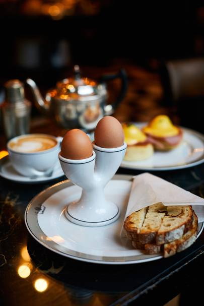 BEN TISH EATS BREAKFAST AT THE WOLSELEY