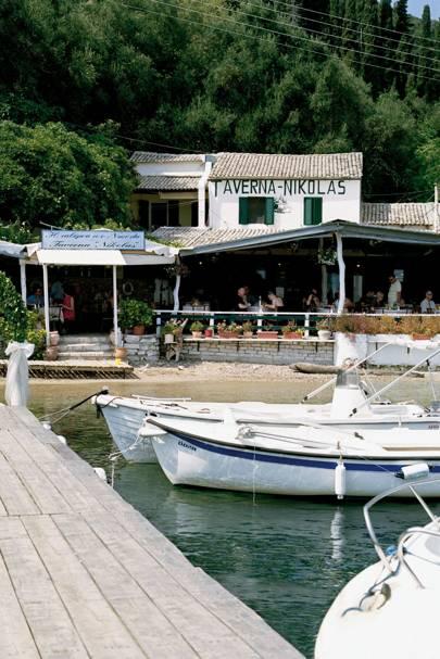 Nikolas Taverna, Corfu