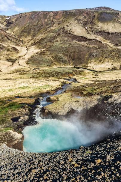 Reykjadalur Hot Springs, Iceland