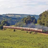 Valentine's Day on a steam train