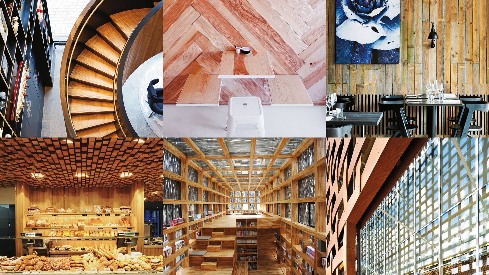 12 wooden designs from around the world