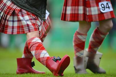 Braemar Highland Games in Scotland