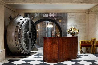 The Vault at The Ned, Bank