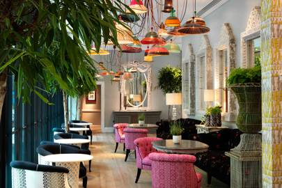 AFTERNOON TEA AT HAM YARD HOTEL, SOHO