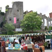 Hay-On-Wye Thursday market, Wales
