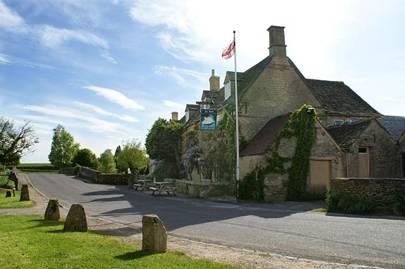 The Swan Inn, Swinbrook, Oxfordshire
