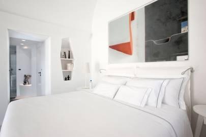 Guest bedroom at The Villa