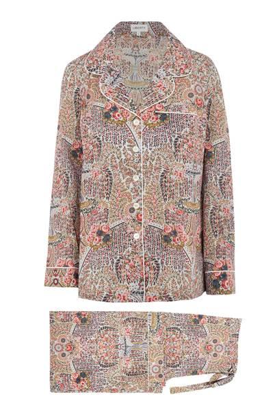 Liberty paisley pyjamas, £275