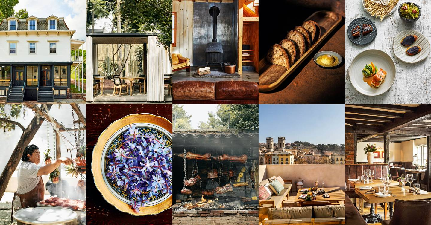 The world's best restaurants-with-rooms