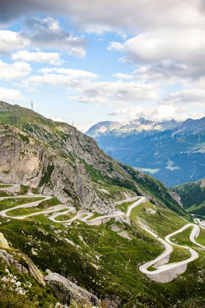 Gotthard and Oberalp passes, Switzerland