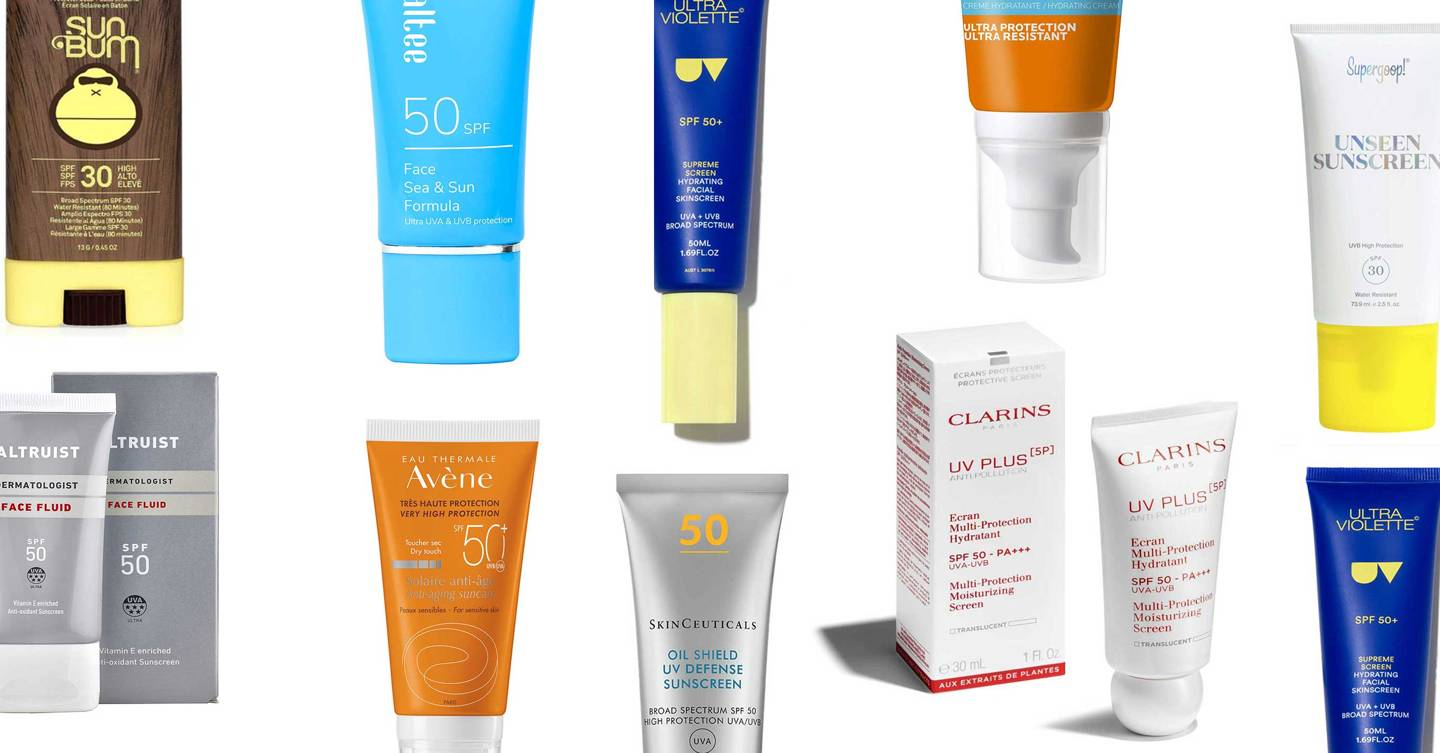 12 of the best face SPFs for summer holidays