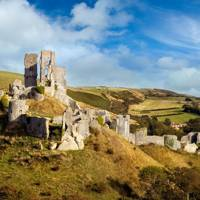8. Corfe Castle, Dorset
