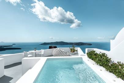 5. Grace Hotel Santorini, Auberge Resorts Collection, is offering 20 per cent off a seven-night holiday