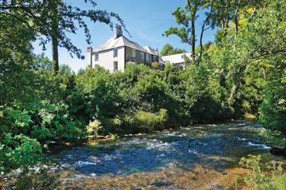 Restormel Manor, Fowey Valley, Cornwall