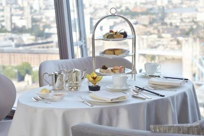 Afternoon tea at Shangri-La Hotel at The Shard